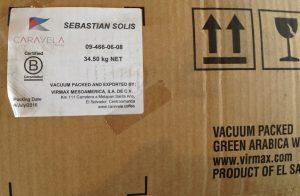 エルサルバドルコーヒー豆