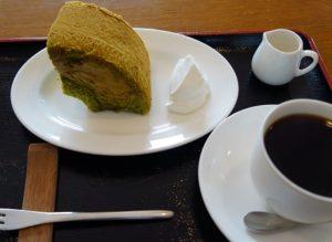 ケーキセット シフォン