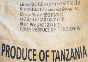 タンザニア ピーベリー